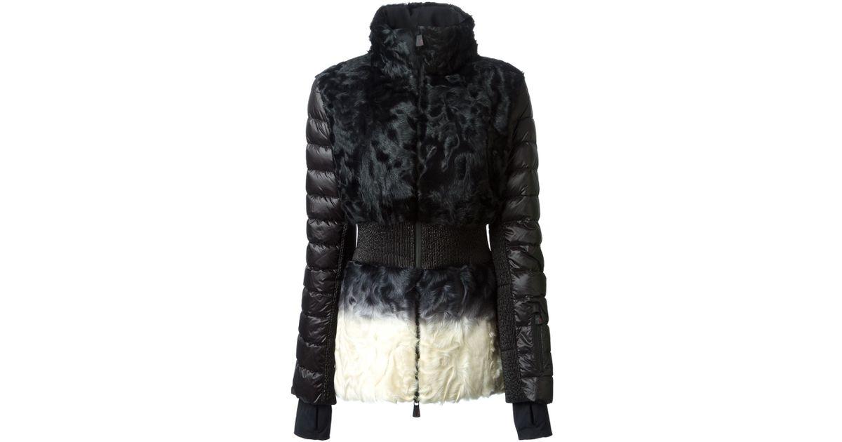 White In Lyst Moncler Nimes Grenoble Coat gxHBqwXA