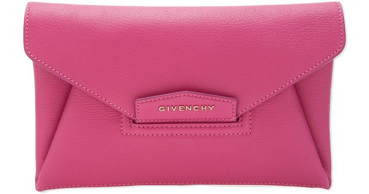 Antigona clutch - Pink & Purple Givenchy 1NBFVr1mL