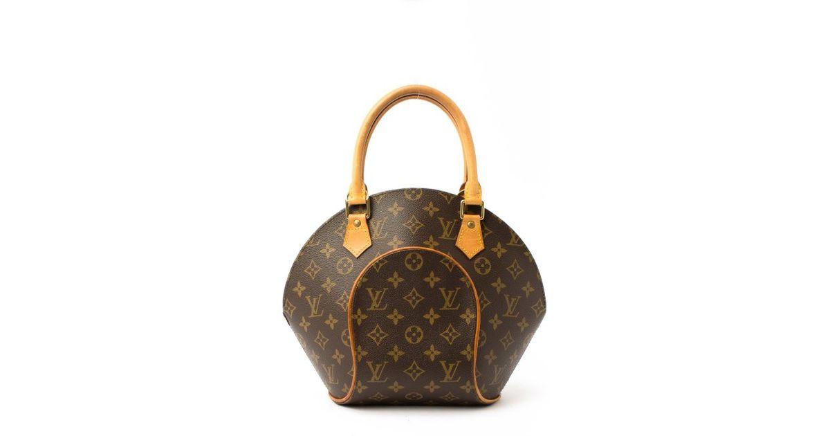 Louis Vuitton Preowned Brown Monogram Ellipse Pm Top Handle Bag In ae31a0e958555