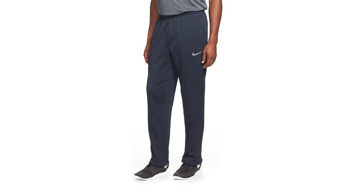 rétro jordans jeunesse - Nike 'ko 3.0' Therma-fit Fleece Training Pants in Gray for Men | Lyst