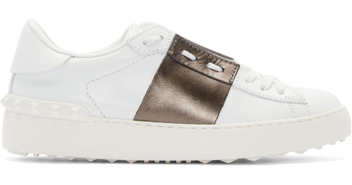 ValentinoOpen low-top sneakers Vente Sneakernews Ytm2p5MSr