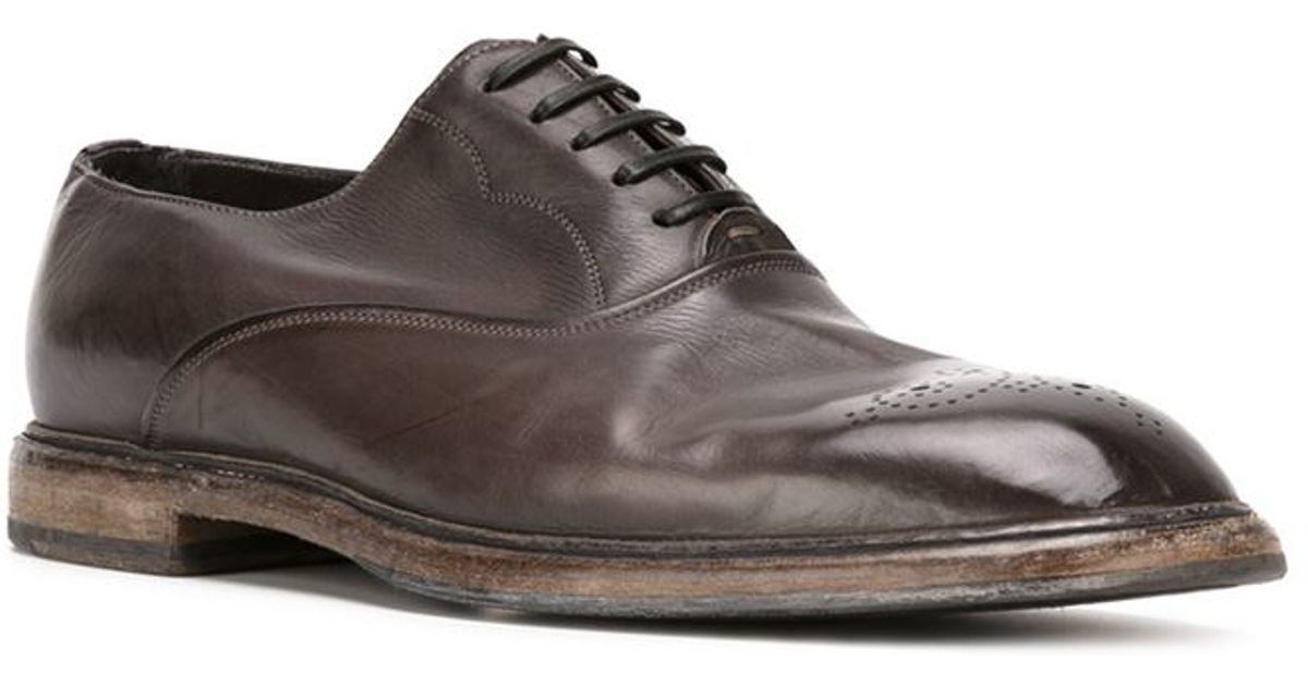 1dbcdfe1464 Dolce & Gabbana 'marsala' Oxford Shoes in Brown for Men - Lyst