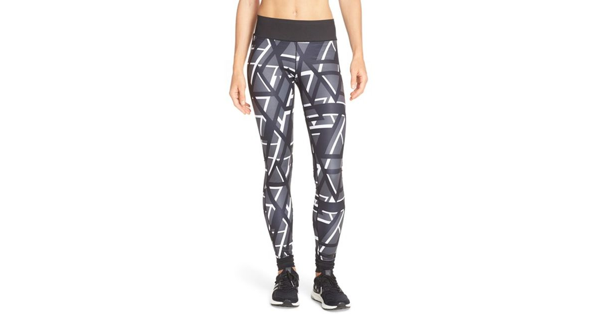 649226d9ce2e adidas Originals 'super' Graphic Tights in Black - Lyst