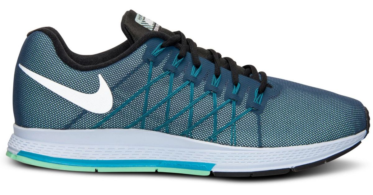 90f62f20427 ... spain lyst nike mens zoom pegasus 32 flash running sneakers from finish  line in blue for