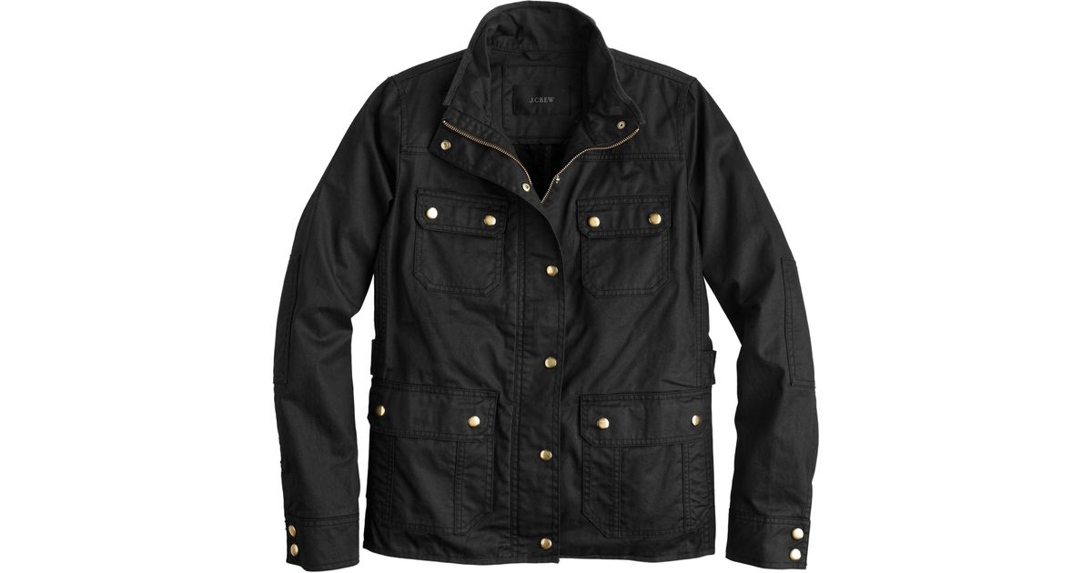 J Crew The Downtown Field Jacket In Black Lyst