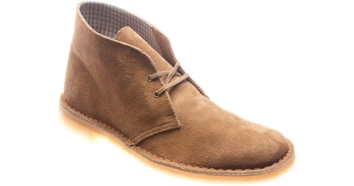 clarks desert boot in for lyst
