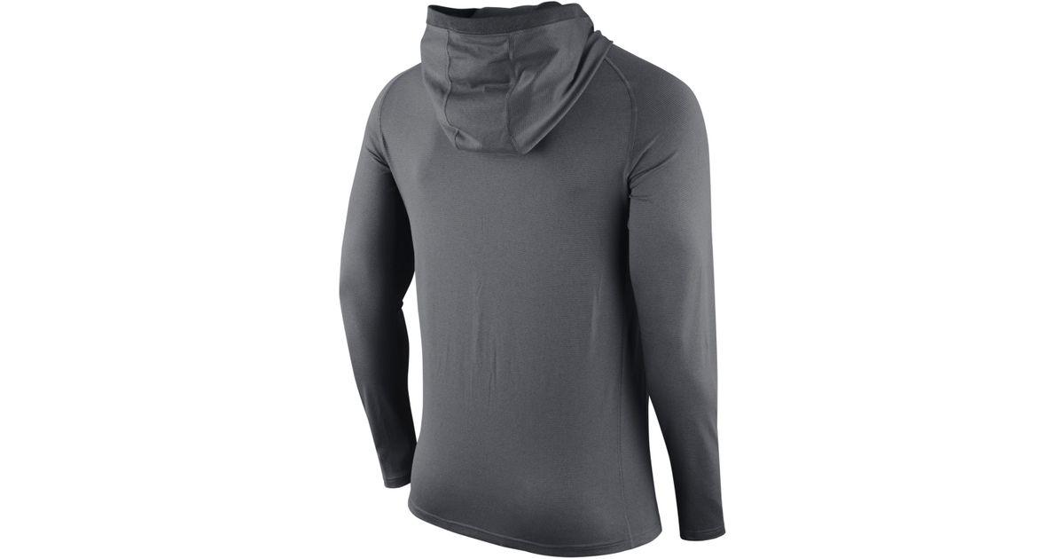 f2ae1bef Lyst - Nike Men's Arizona Wildcats Stadium Dri-fit Touch Hoodie in Gray for  Men