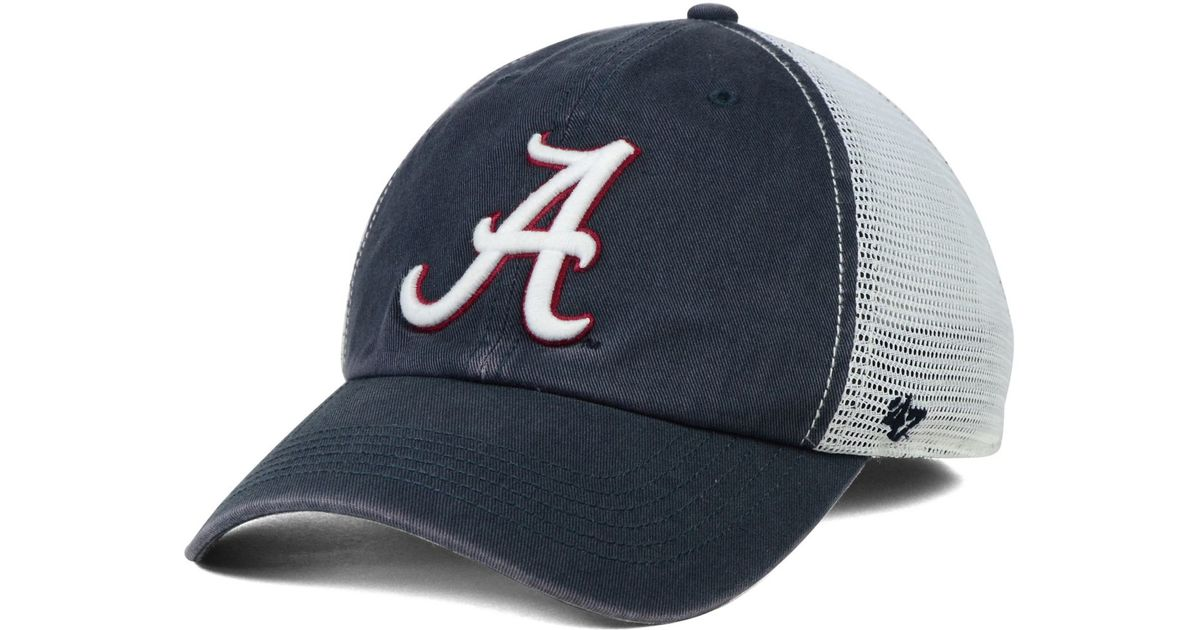 2de95792a8943 Lyst - 47 Brand Alabama Crimson Tide Stretch-fit Griffin Cap in Blue for Men