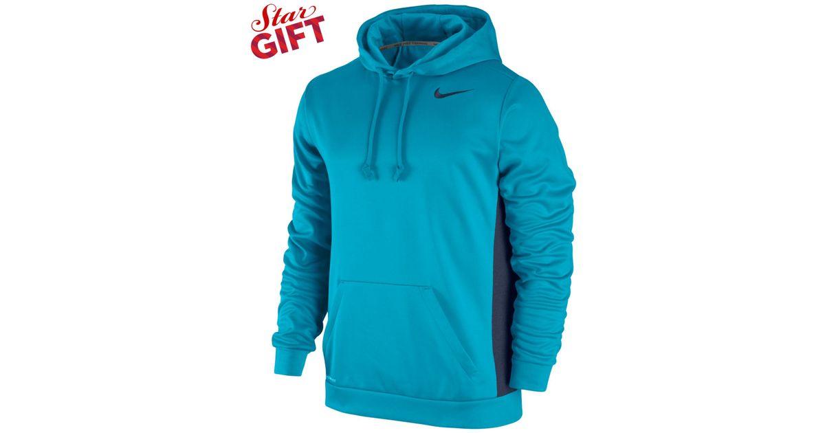 Lyst - Nike Men s Ko 3.0 Therma-fit Pullover Hoodie in Blue for Men 865f748b30