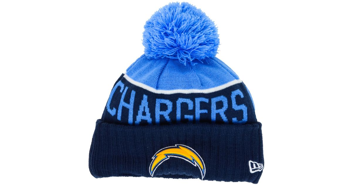 1c141055aff9e1 Lyst - KTZ Kids' San Diego Chargers Sport Knit Hat in Blue
