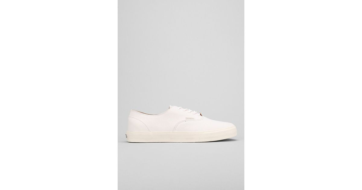 82cbdd115c1249 Lyst - Vans Era Decon California Nappa Leather Mens Sneaker in White for Men