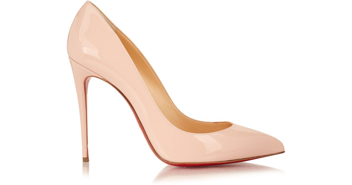 a3fab76b817b ... ireland lyst christian louboutin pigalle follies patent leather pumps  in pink 8101f 4727b ...