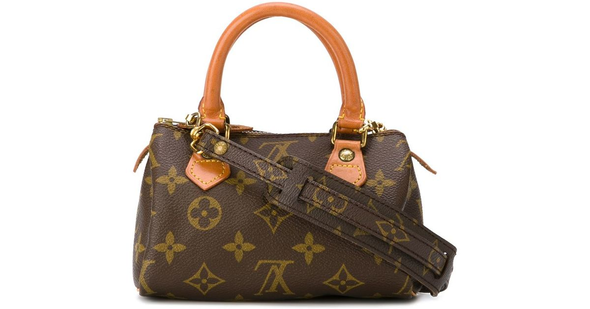 d6cecb538bc3 Lyst - Louis Vuitton Small Cross-body Bag in Brown