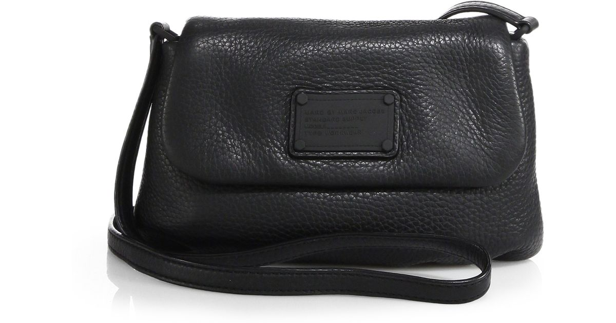 4cd65a952b21 Lyst - Marc By Marc Jacobs Electro Q Flap Percy Shoulder Bag in Black
