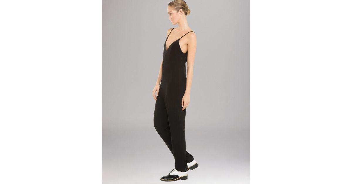 d6c99475069 Lyst - Sandro Jumpsuit Pure in Black