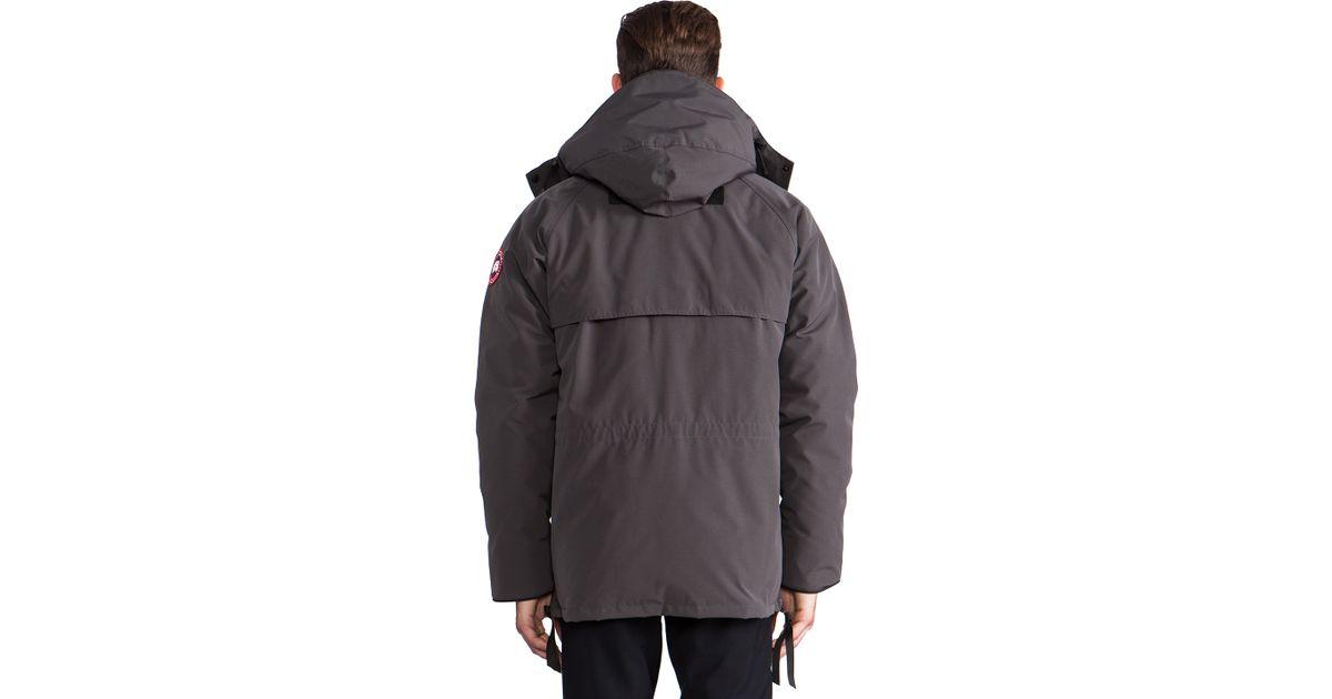 buy canada goose men's constable parka grey uk