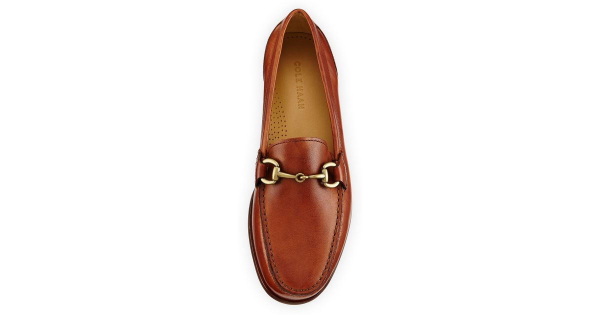 637fe05c1d9 Lyst - Cole Haan Fairmont Horsebit Leather Loafer in Brown for Men