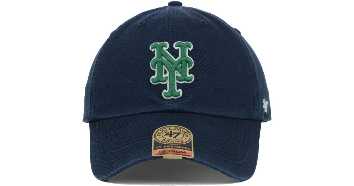 huge selection of a8f19 603c0 ... ireland lyst 47 brand new york mets mlb dublin cap in blue for men  948ce bbff0