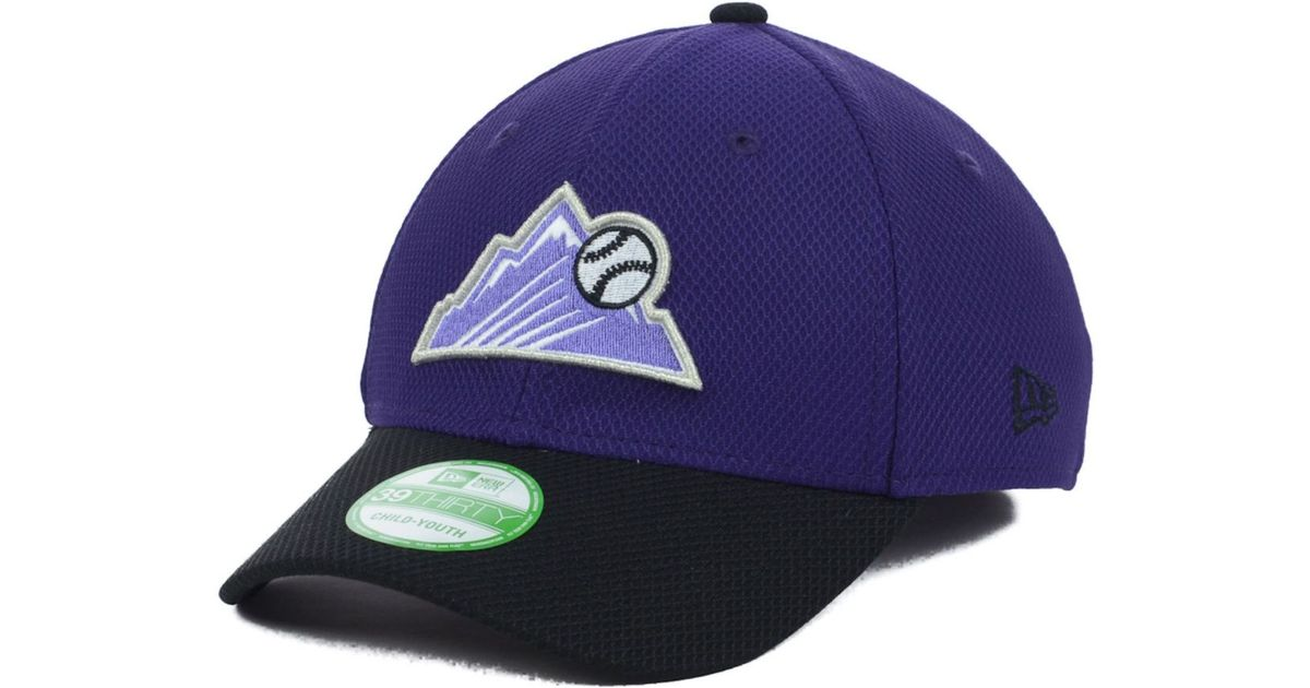 cd4e9aee229f8 Lyst - KTZ Kids  Colorado Rockies Diamond Era 2 Tone 39thirty Cap in Blue  for Men