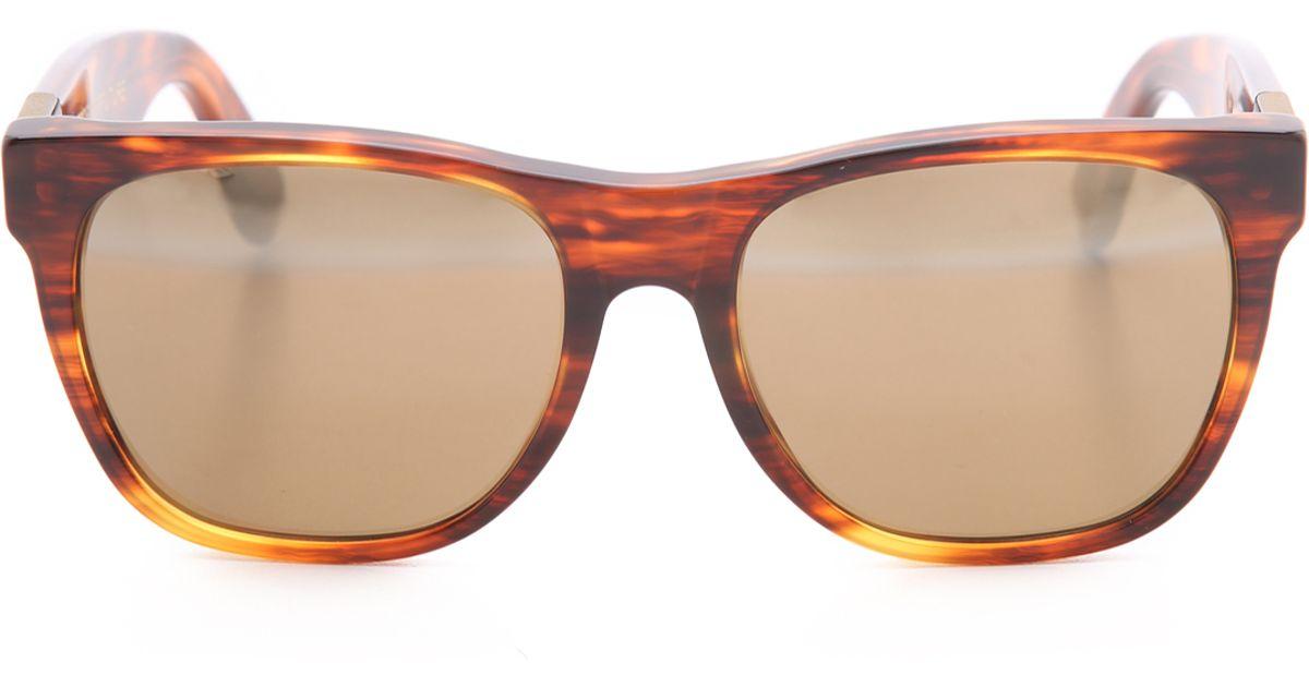 a65d19138b8 Lyst - Retrosuperfuture Classic Horizon Ii Sunglasses in Brown for Men