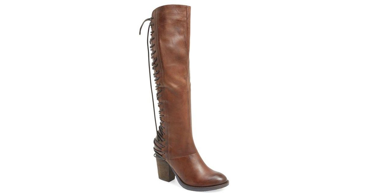 1285438543e Lyst - Steve Madden  rikter  Knee High Boot in Brown