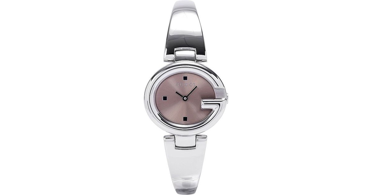 8f52de699a2 Gucci Ya134503 Ssima Collection Stainless Steel Watch - For Women in  Metallic for Men - Lyst