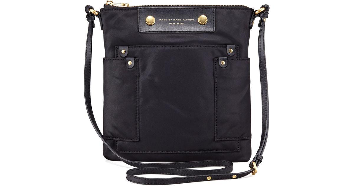 0f1416ef383e Lyst - Marc By Marc Jacobs Preppy Nylon Sia Crossbody Bag Black in Black