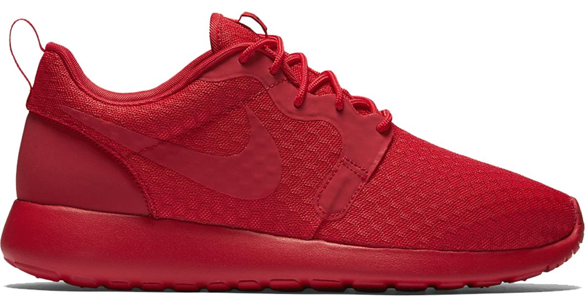 half off 34129 8741c Lyst - Nike Roshe One Hyp in Red