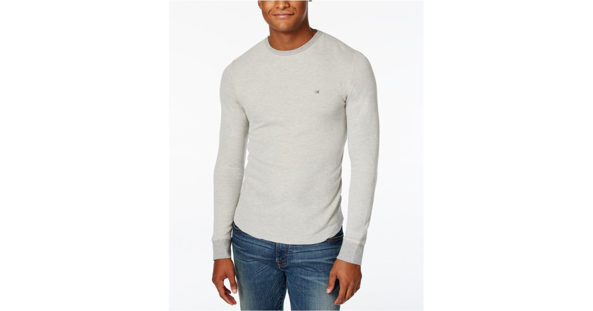 Discount Low Cost Mens Cotton Icon Long Sleeve Sports Shirt Tommy Hilfiger Clearance Visit Outlet With Paypal Outlet Hot Sale geysa5m