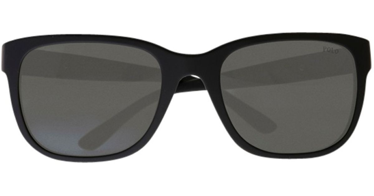 c50857148403 Polo Ralph Lauren Ph3066 Pony Player Sunglasses in Black - Lyst