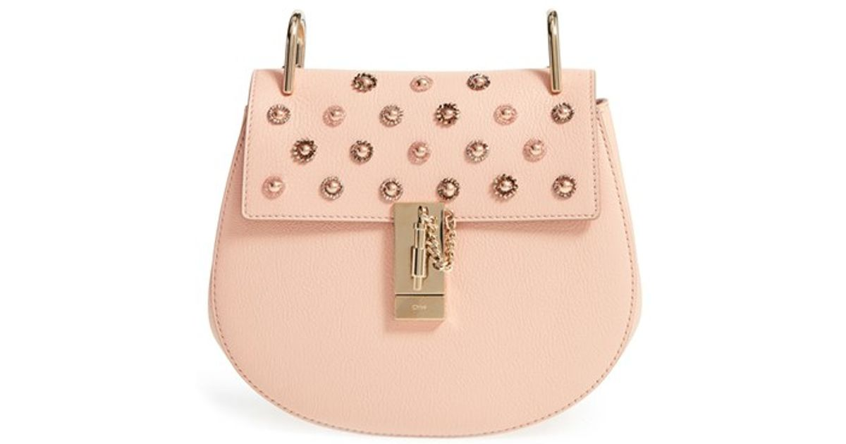 replica bags chloe - chloe drew mini goatskin saddle bag, chloe knockoff bags