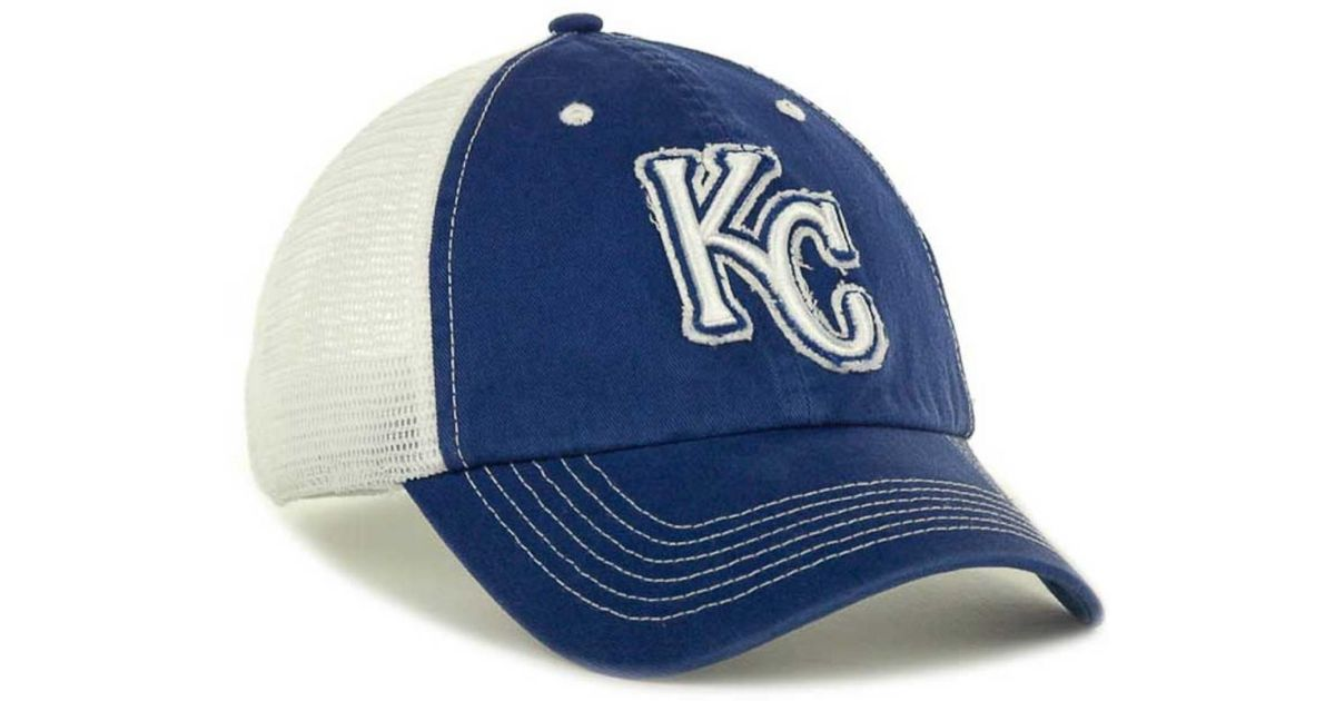 ... coupon code for lyst 47 brand kansas city royals blue mountain  franchise cap in blue for bab0c19cb8d7