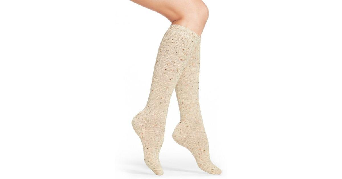 25176c91e Lyst - Smartwool  wheat Fields  Merino Wool Blend Socks in Natural