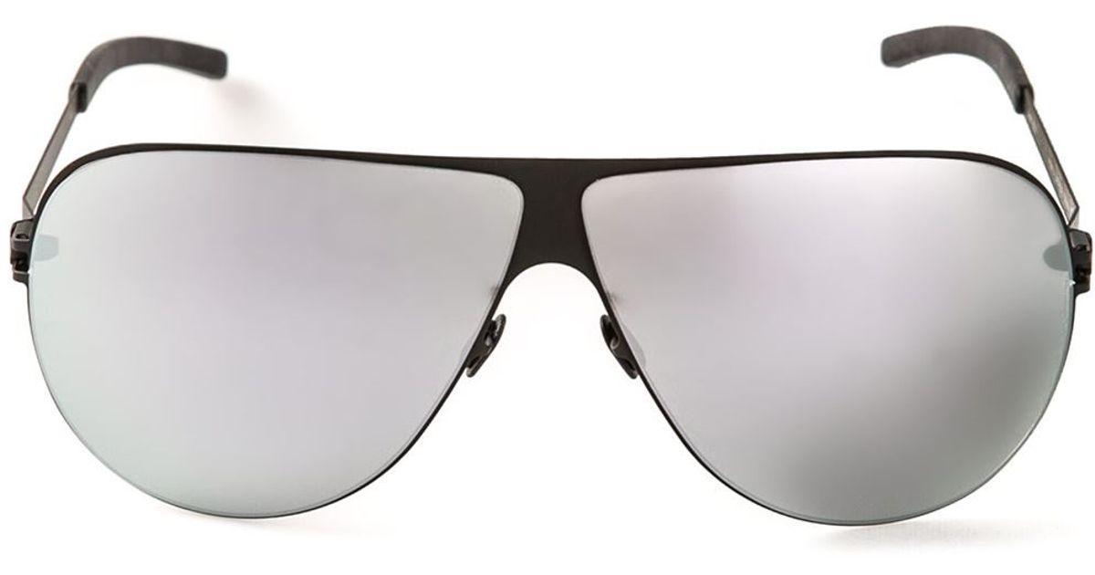 663d5e21fbf Lyst - Mykita Elliot Sunglasses in Black for Men