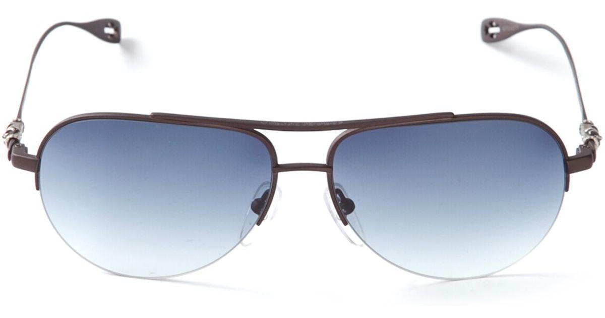 71efa67dd2db3 Chrome Hearts  Stains  Sunglasses in Black - Lyst