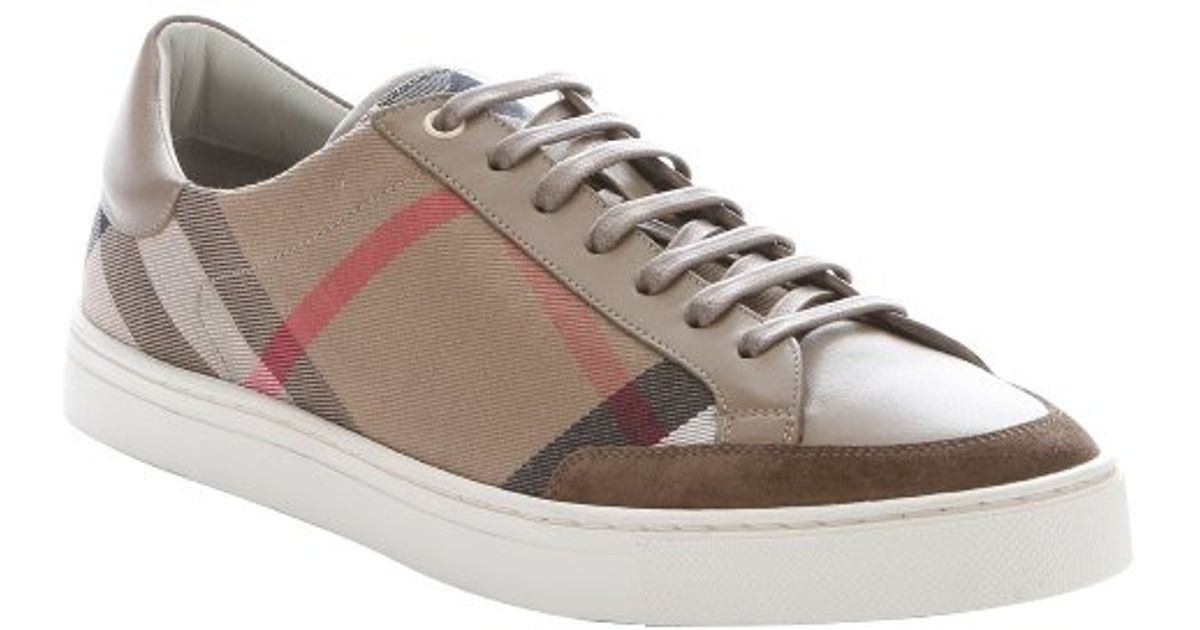 largest supplier cheap price free shipping under $60 Burberry House Check Low-Top Sneakers manchester great sale for cheap cheap online sale shop for fukyoyZ