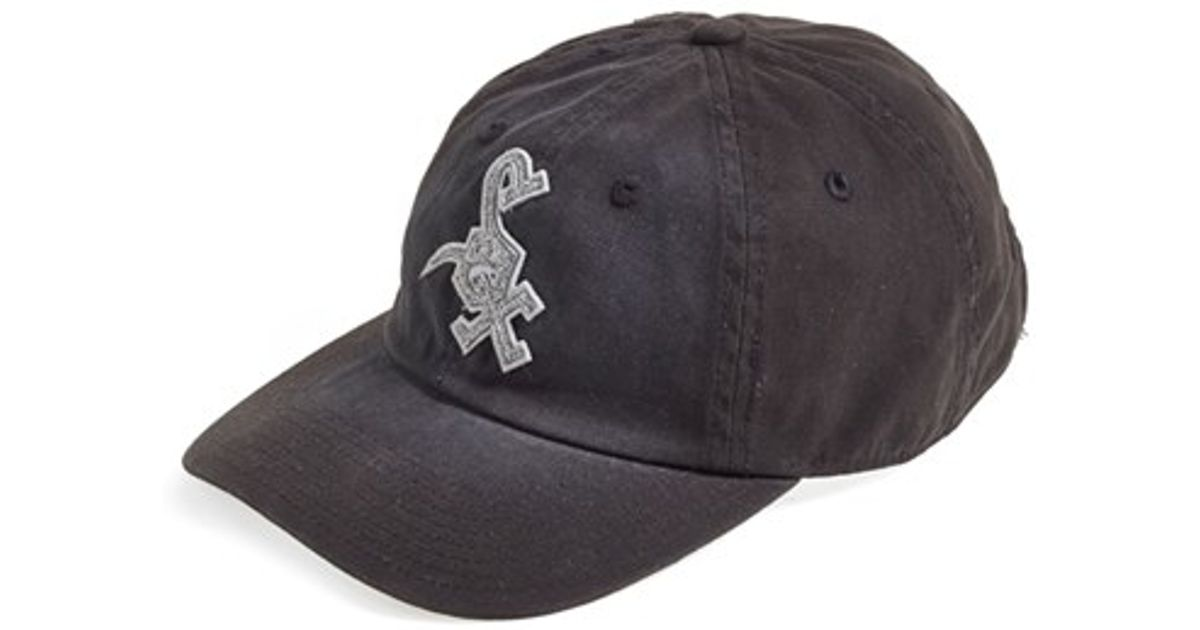 aa612f6436b21 Lyst - American Needle  chicago White Sox - Luther  Ball Cap in Black for  Men