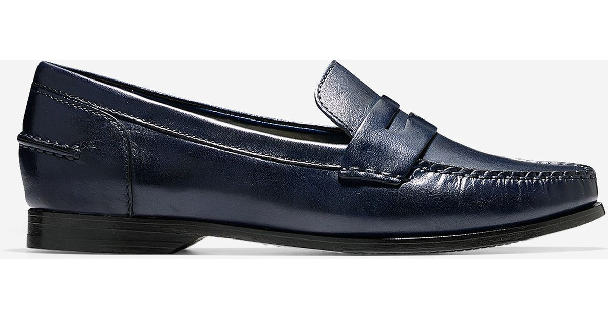4699ecfed59 Cole Haan Women s Pinch Grand Penny Loafer in Blue - Lyst
