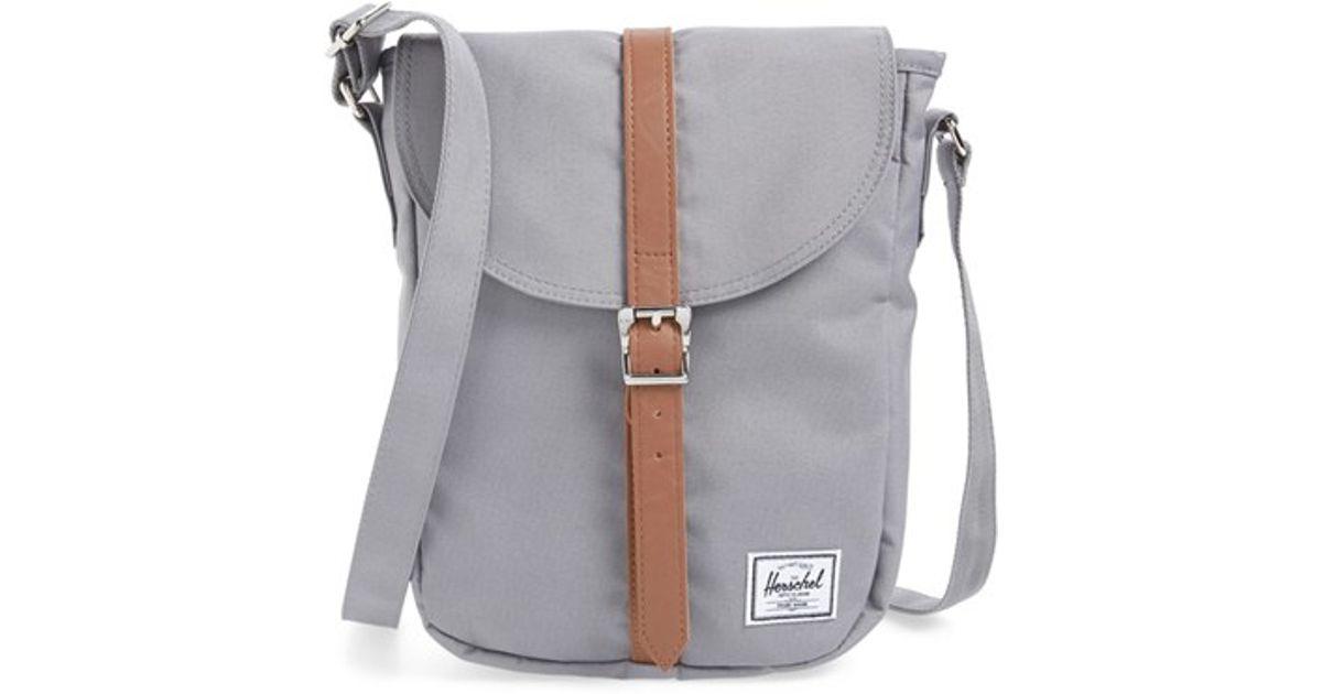 Herschel Supply Co. Kingsgate Cross-Body Bag in Gray - Lyst 0f2b2020e0585