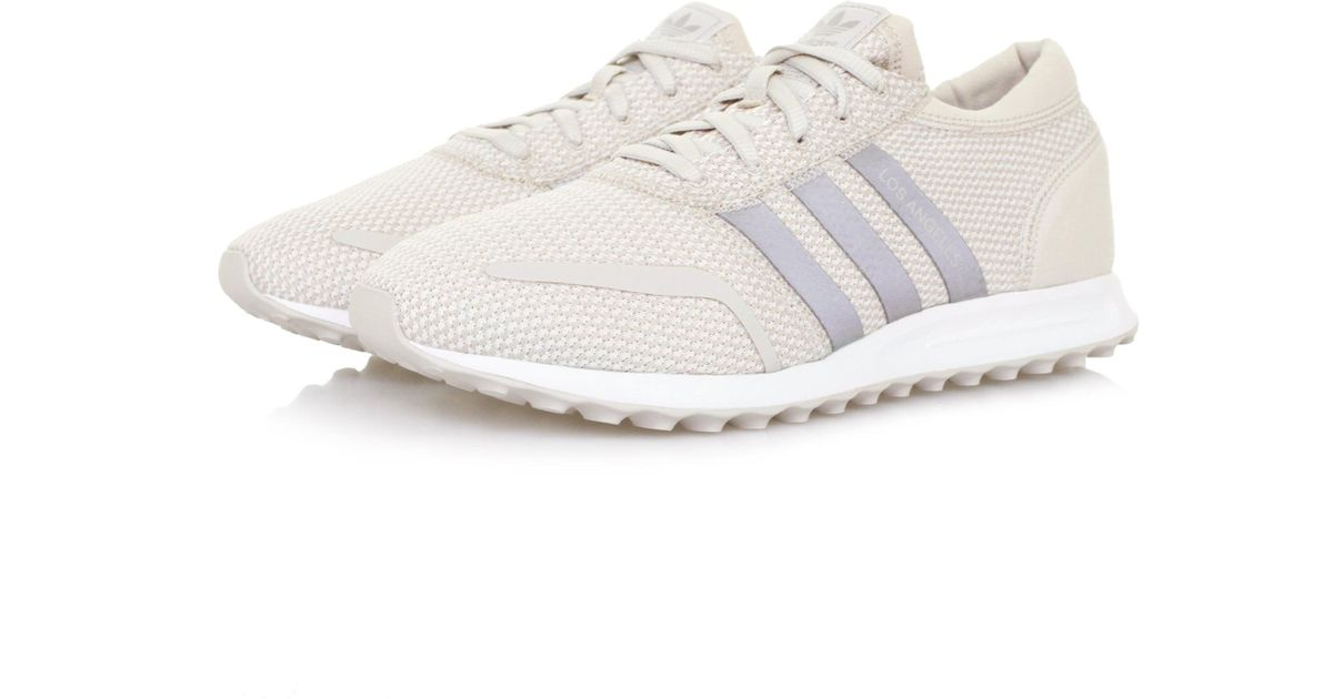 Lyst adidas Originals Los Angeles Marrón beige zapato s75989 en Brown