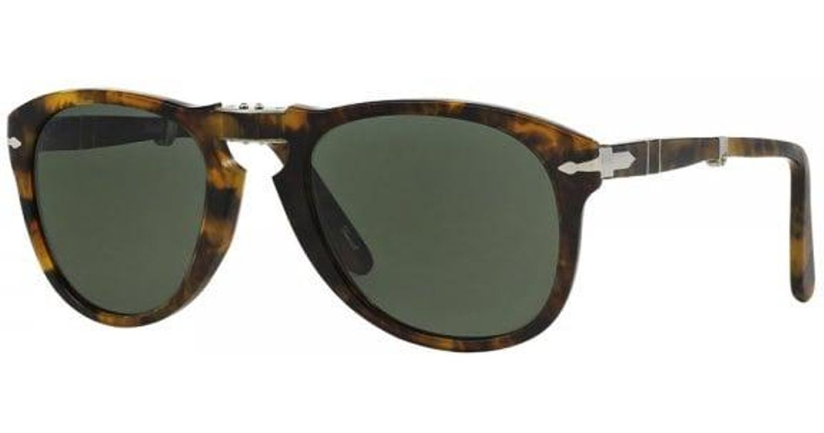 f36c650240 Lyst - Persol 714 Foldable Havana Polarized Sunglasses 108 5854 for Men