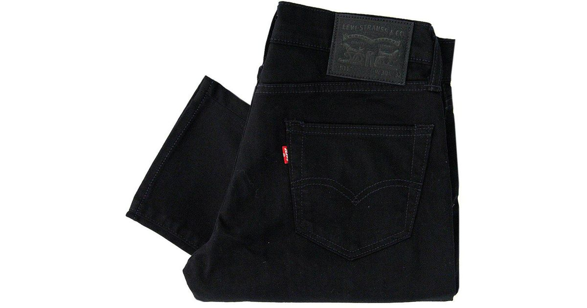 bdbcea9fb8c Levi's Levis 511 Black Slim Fit Jeans in Black for Men - Lyst