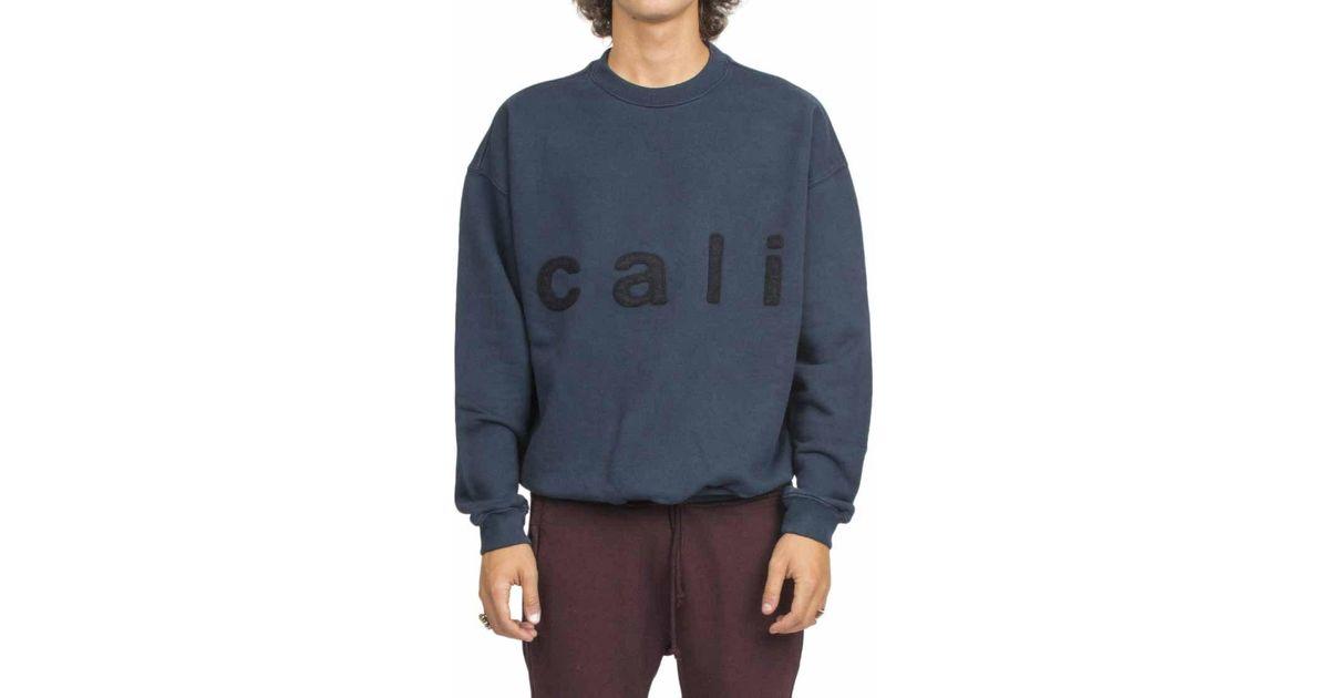 e80ee8491 Lyst - Yeezy  cali  Sweatshirt- Season 5 for Men