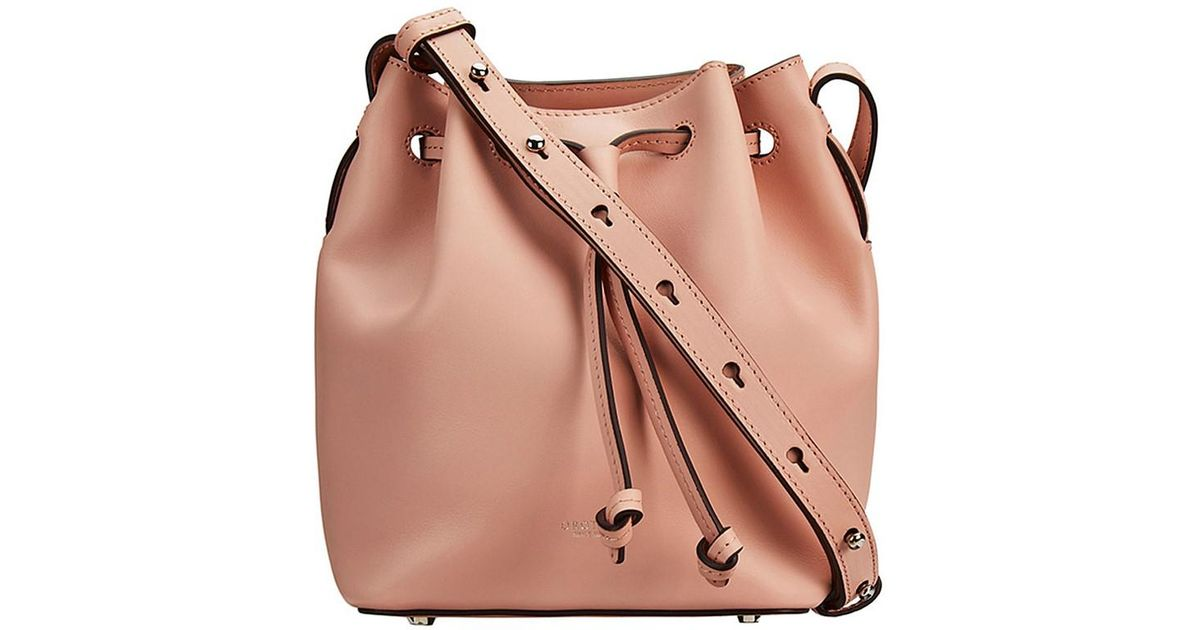 90fdb5017abb Oroton Escape Mini Bucket Bag in Pink - Lyst