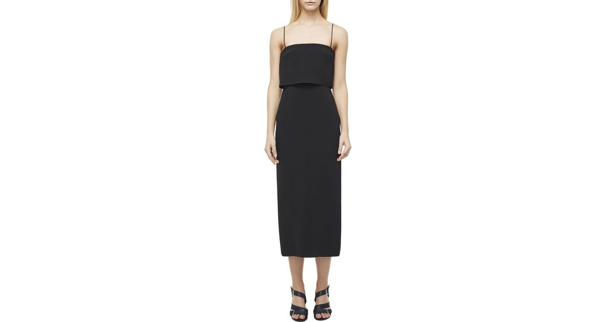 95762d599bba Dion Lee Column Dress in Black - Lyst