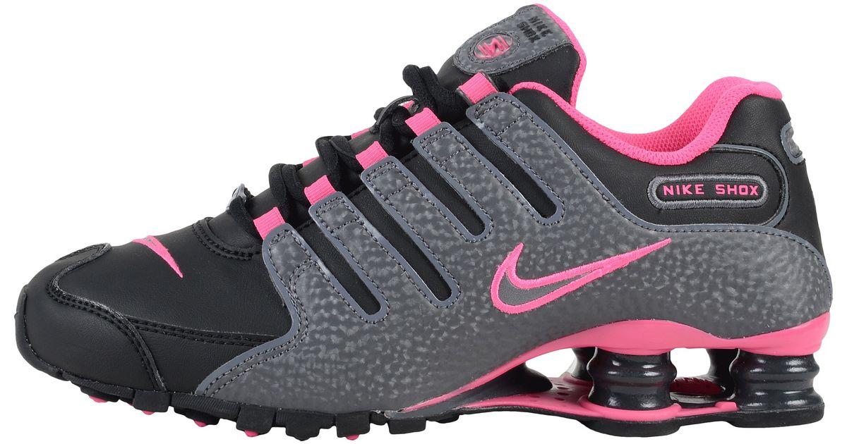 bfef9b35bd5 Lyst - Nike Shox Nz in Pink