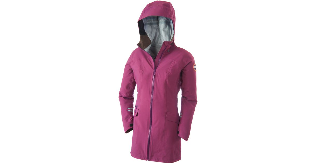 Canada Goose parka sale official - Canada goose Coastal Shell Jacket in Purple (Tundra Blossom/Arctic ...