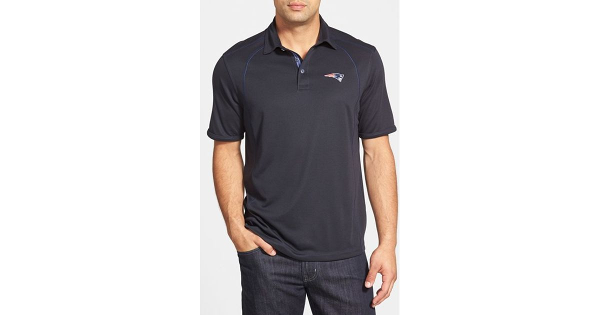 Lyst - Tommy Bahama  firewall - New England Patriots  Short Sleeve Nfl Polo  in Blue for Men 5a5835566