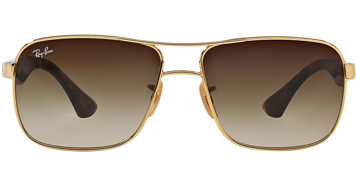 9fb479c15c1 Ray Ban Gold Brown Gradient Ray « Heritage Malta