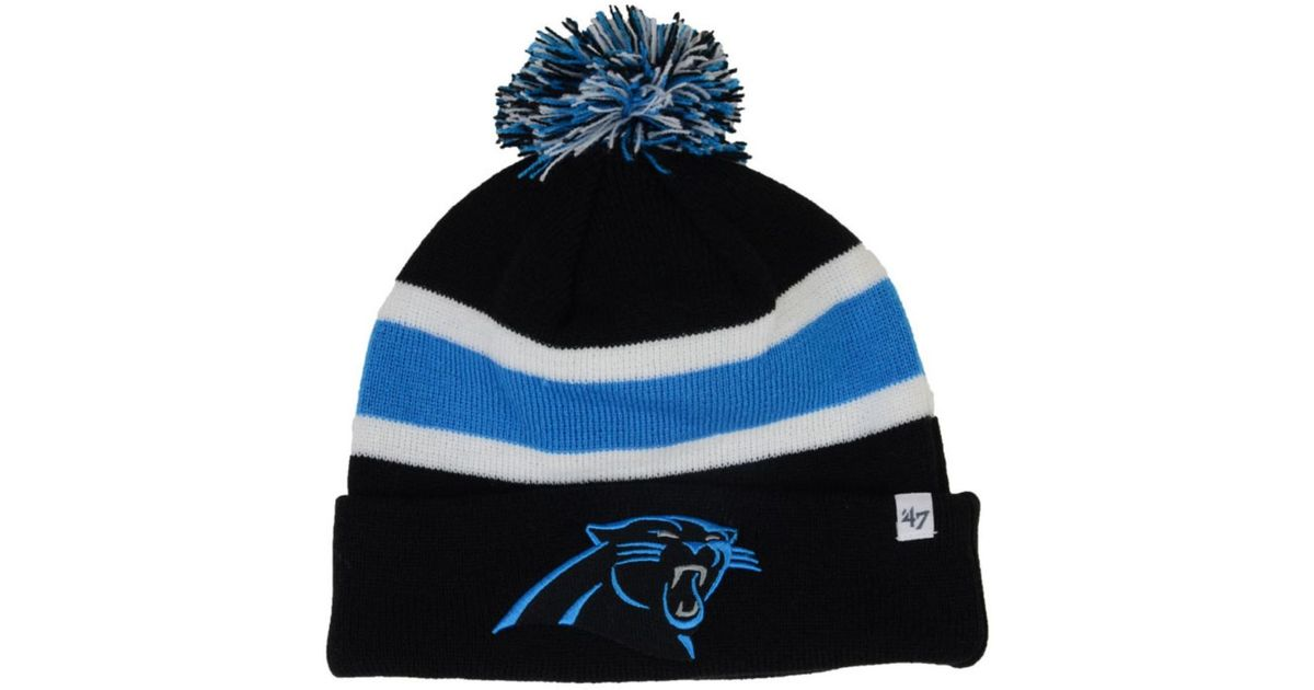Lyst - 47 Brand Carolina Panthers Breakaway Knit Hat in Blue for Men 03acc2cce